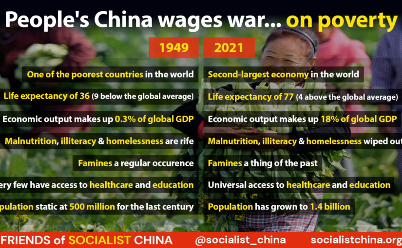 People's China wages war… on poverty