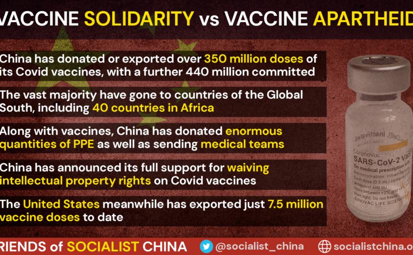 Vaccine solidarity versus vaccine apartheid