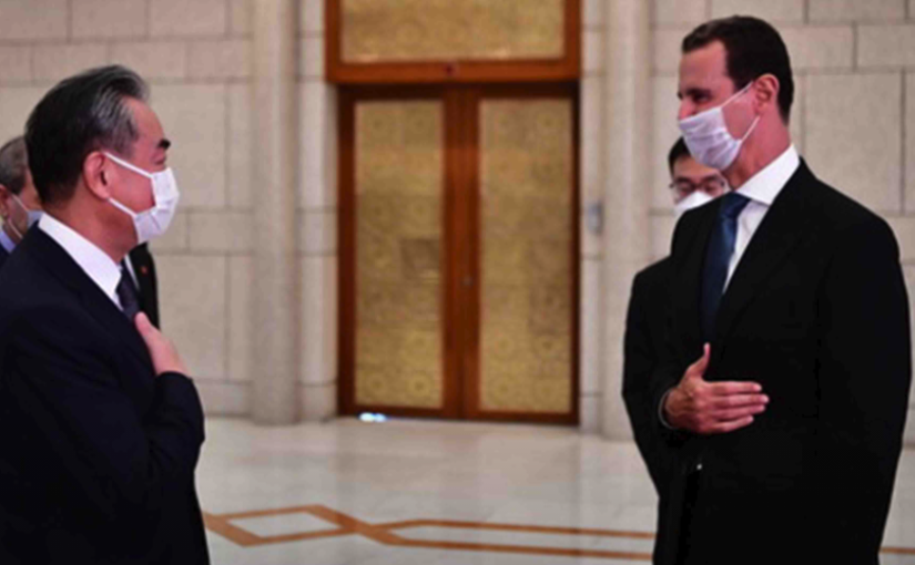 China opposes any attempt to seek regime change in Syria