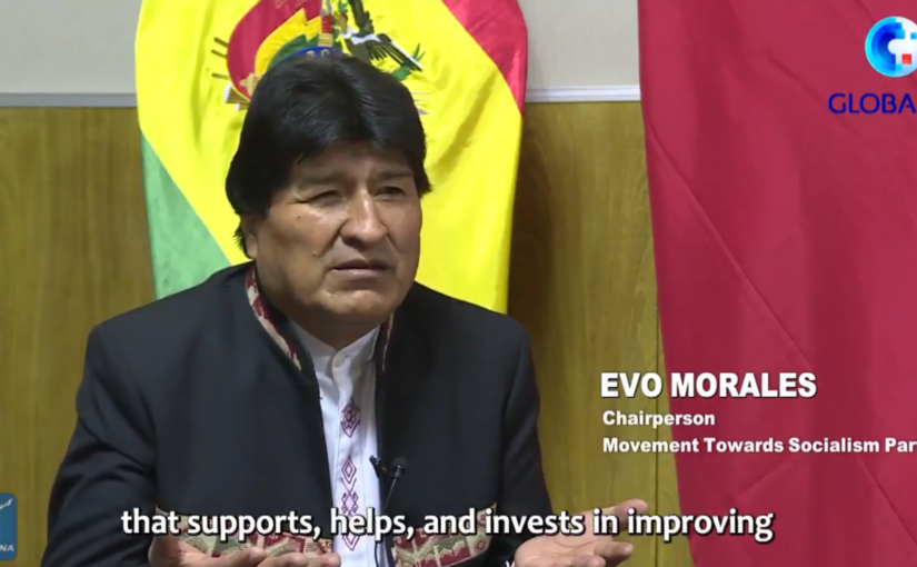 Evo Morales on China-Bolivia cooperation and the nature of Chinese policy