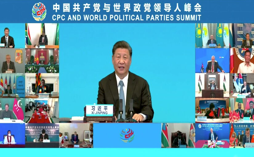 Xi Jinping: Strengthening Cooperation Among Political Parties to Jointly Pursue the People's Wellbeing