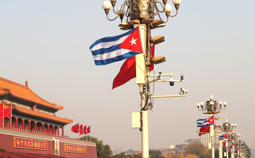 Chinese and Cuban media report on Xi Jinping phone call with Miguel Diaz-Canel