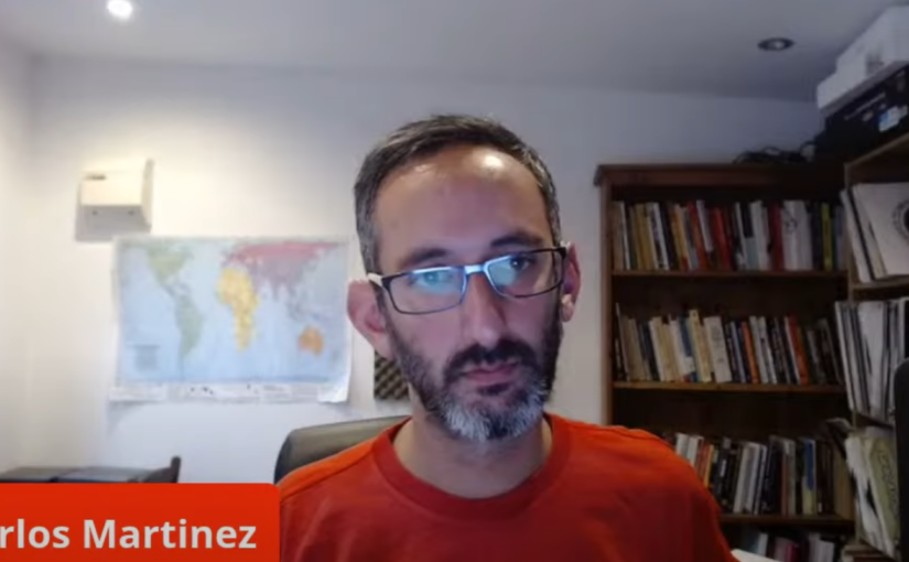 Interview with Carlos Martinez on the propaganda war against China