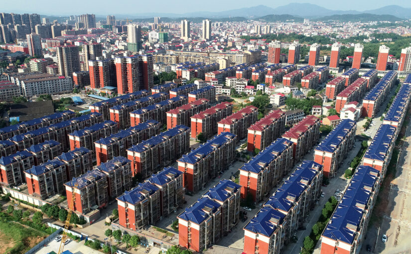 China says it has built the world's largest housing guarantee system