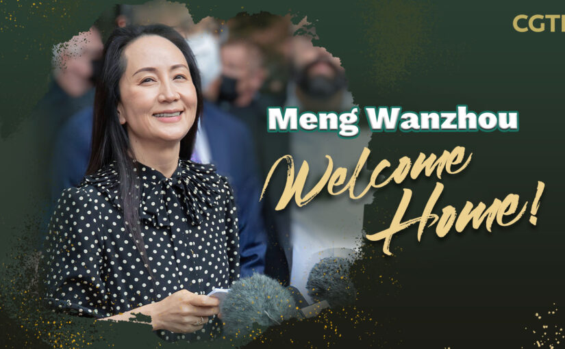 Radhika Desai: Release of Meng Wanzhou ends a contemptible mess of illegality
