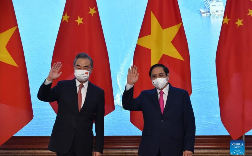 Towards a shared vision, a shared prosperity and a shared partnership between China and Vietnam