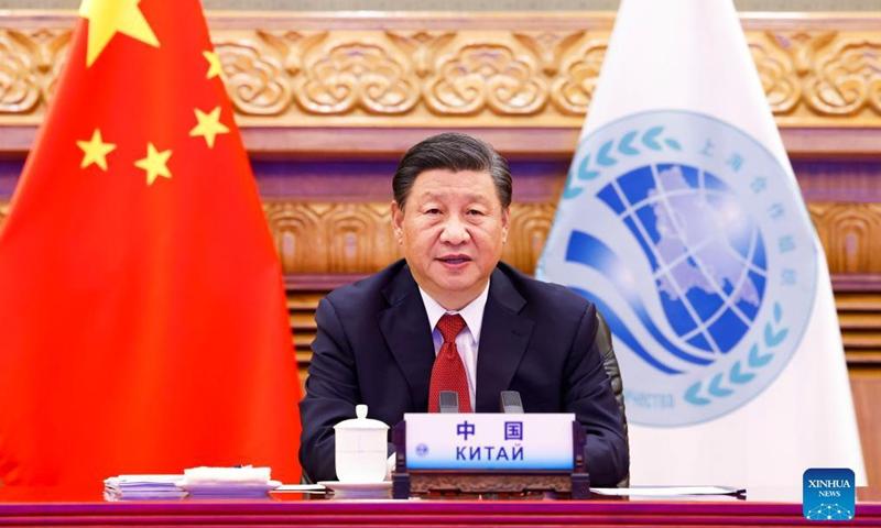 Xi Jinping speech at the Shanghai Cooperation Organization summit