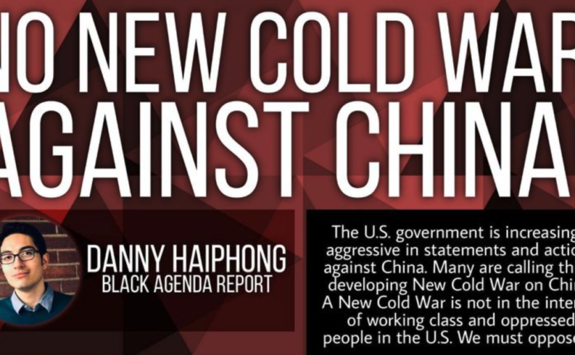Educational Forum: No New Cold War Against China (Saturday 23 October)